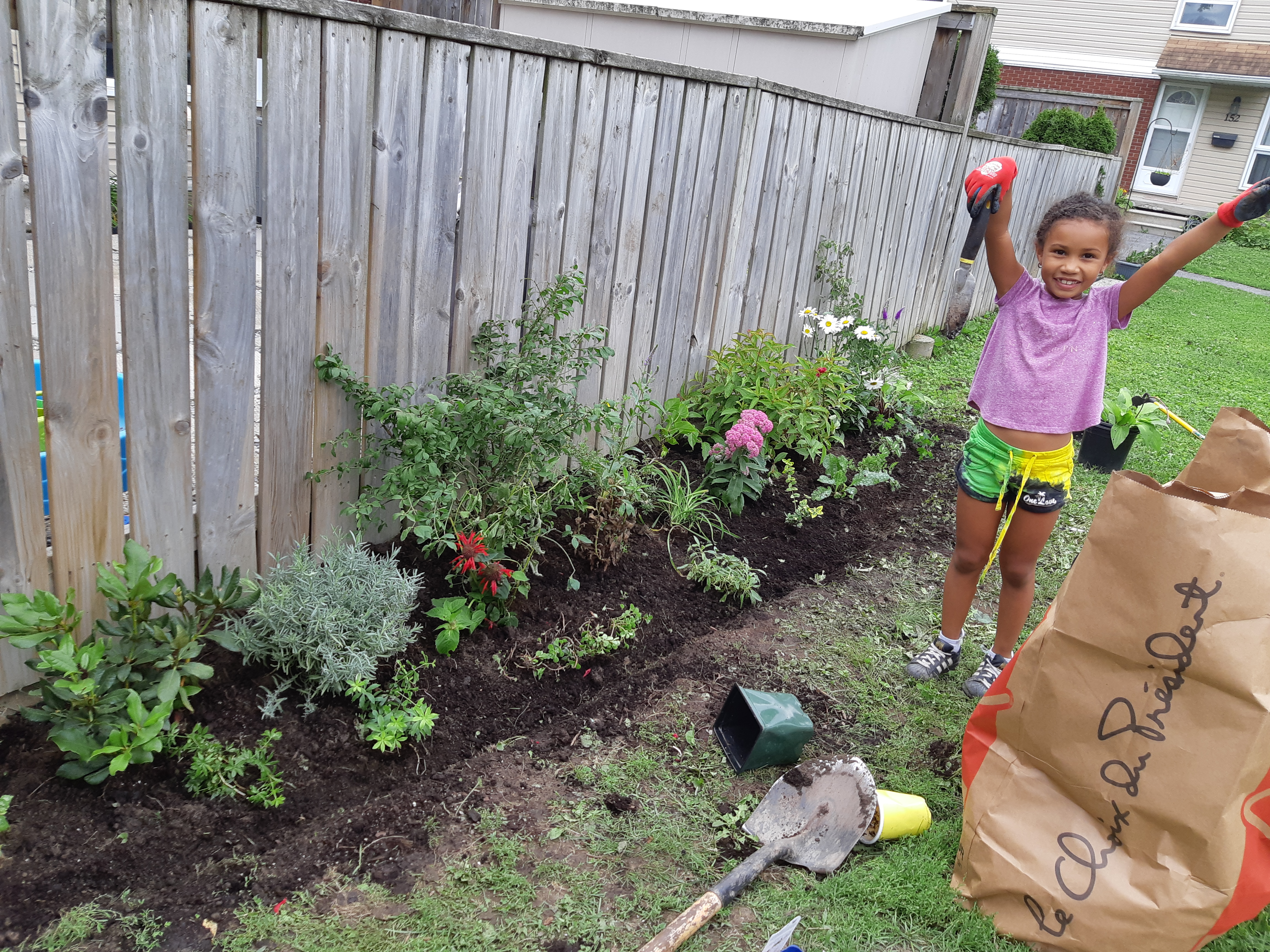 Love of Gardening is Contagious