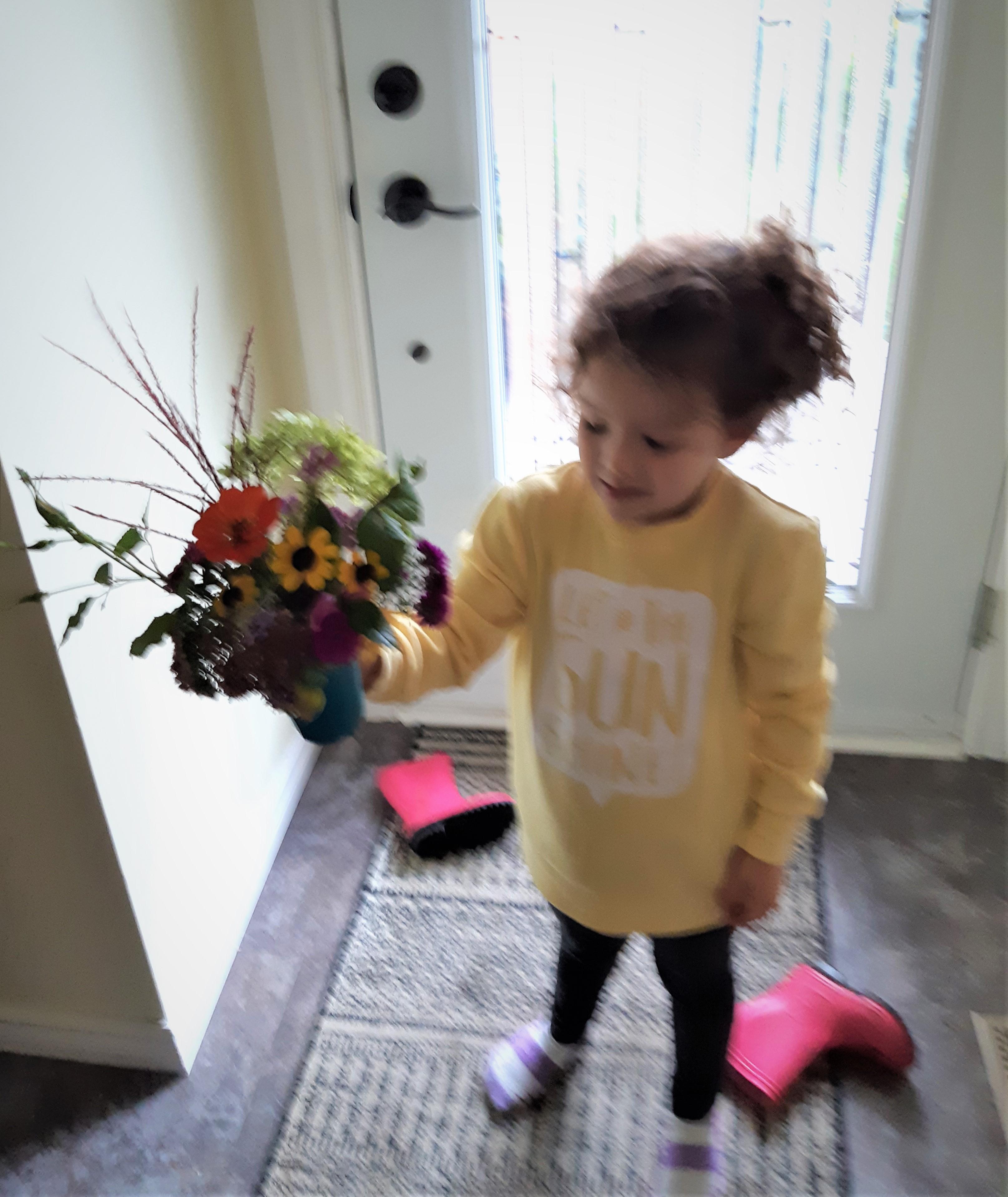 Fall Garden Chores Results in Beautiful Bouquet